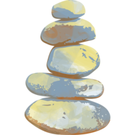 Trailhead Health Stacked Stones Logo